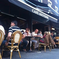 Photo taken at Café Souvenir by Pierre-Luc B. on 7/10/2012