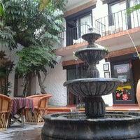 Photo taken at Hacienda Hotel & Spa by BestDay.Com.Mx on 3/28/2012