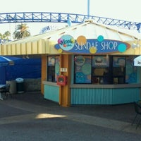 Photo taken at Dippin' Dots Sundae Shop by K G. on 1/19/2012