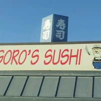Photo taken at Goro's Sushi by Oscar R. on 11/2/2011