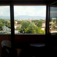 Photo taken at Napoleon Hotel Lucca by Lars E. on 8/21/2011