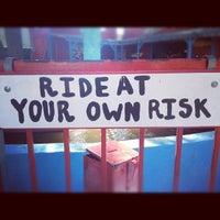Photo taken at Kiddie Park by Rhiannon E. on 8/29/2012