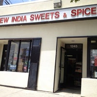 Photo taken at New India Sweets and Spices by Jason L. on 6/9/2012
