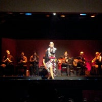 Photo taken at Palacio del Flamenco by Olya S. on 9/11/2012