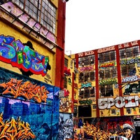 Photo taken at 5 Pointz by Mateo L. on 9/6/2012