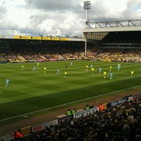 Photo taken at Carrow Road by Thomas M. on 4/14/2012