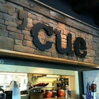 Photo taken at 'Cue Barbecue by Frank W. on 4/9/2011
