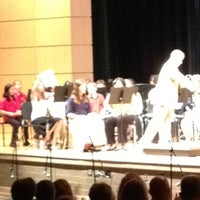 Photo taken at Clover Hill High School by Lara B. on 4/21/2012