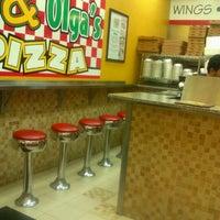 Photo taken at Manny & Olga's Pizza by Sakinah A. on 8/12/2012