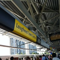 Photo taken at Lougheed Town Centre SkyTrain Station by Cassandra C. on 9/10/2011
