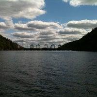 Photo taken at Smith Mountain Lake Dam by Marty B. on 9/18/2011