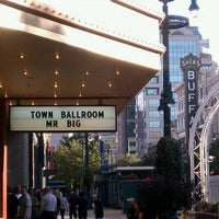 Photo taken at Town Ballroom by Christine L. on 8/19/2011