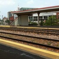 Photo taken at Metra - Evanston (Davis Street) by Lisa J. on 7/10/2011