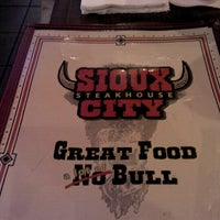 Photo taken at Sioux City Steakhouse by Bill W. on 6/14/2012