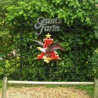 Photo taken at Grant's Farm by Phil K. on 4/18/2011