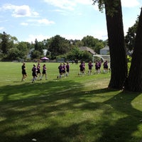 Photo taken at St Kate's Soccer Field by Phil A. on 8/18/2012
