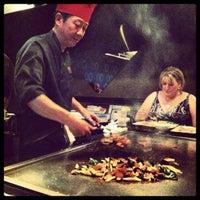 Photo taken at Kobe Teppan & Sushi - Frisco by Rhiannon W. on 6/2/2012