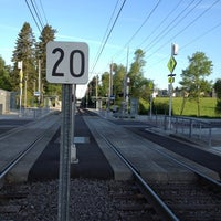 Photo taken at TriMet NW Civic Drive MAX Station by Paul A. on 5/14/2012
