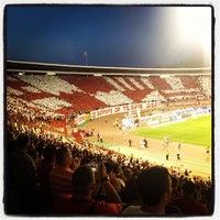 """Photo taken at Stadion """"Rajko Mitić"""" by David M. on 8/2/2012"""