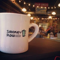 Photo taken at Smokey Row Coffee by Chris A. on 6/19/2012