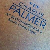 Photo taken at Charlie Palmer at Bloomingdale's by Steve B. on 3/19/2012