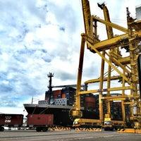 Photo taken at Laem Chabang International Terminal Com.,Ltd.(B5&C3) by Natthaphat C. on 8/12/2012