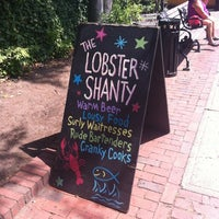 Photo taken at The Lobster Shanty by Katherine S. on 7/6/2012