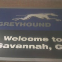 Photo taken at Savannah Greyhound Station by James R. on 8/20/2012