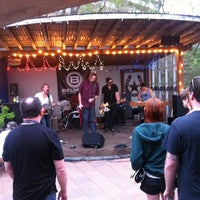 Photo taken at Tiniest Bar In Texas by Amy G. on 3/17/2012