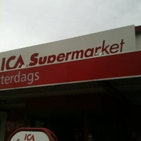 Photo taken at ICA Atterdags Supermarket by Leo on 7/4/2012