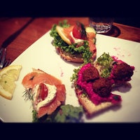 Photo taken at Scandinavian Kitchen by Dave B. on 4/7/2012