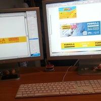 Photo taken at Reklamas Apgads by Agris K. on 8/2/2012