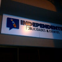 Photo taken at Independente Publicidade e Eventos by FRANKLIN R. on 5/11/2012