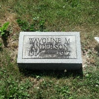 Photo taken at Wavoline Anderson grave by Travis S. on 6/13/2012