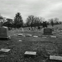 Photo taken at Saint Marys Cemetary by DeadBoy S. on 3/12/2012
