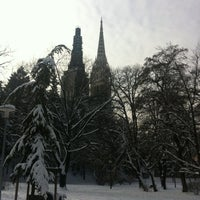 Photo taken at Ribnjak by Bojan T. on 2/13/2012