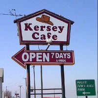 Photo taken at Kersey Cafe by Walter P. on 2/18/2012