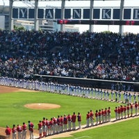 Photo taken at George M Steinbrenner Field by Pamela 🌺 on 3/5/2012
