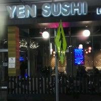 Photo taken at Yen Sushi Karaoke & Lounge by Maurice W. on 4/30/2012