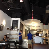 Photo taken at Press Coffee Roasters by Chris T. on 5/28/2012