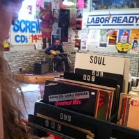 Photo taken at Trailerspace Records by Taylor M. on 4/21/2012