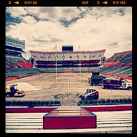 Photo taken at Ben Hill Griffin Stadium by Derek F. on 6/21/2012