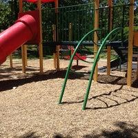 Photo taken at Burns Park Playground by Carlynn B. on 4/21/2012