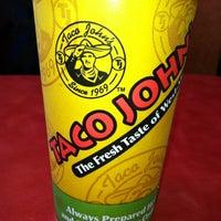Photo taken at Taco John's by Rachel D. on 5/15/2012