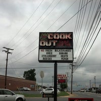 Photo taken at Cook Out by Debra R. on 9/5/2012