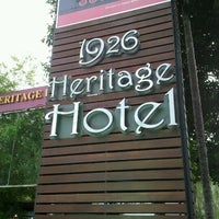 Photo taken at 1926 Heritage Hotel by wilson T. on 7/11/2012