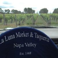 Photo taken at La Luna Market & Taqueria by Napa Valley Bitters C. on 4/24/2012