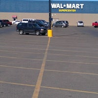 Photo taken at Walmart Supercenter by Holly M. on 3/22/2012