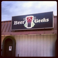 Photo taken at Beer Geeks Pub by Jim W. on 4/14/2012