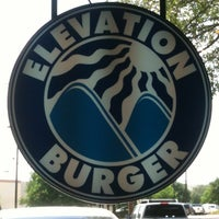 Photo taken at Elevation Burger by Carlos d. on 4/28/2012